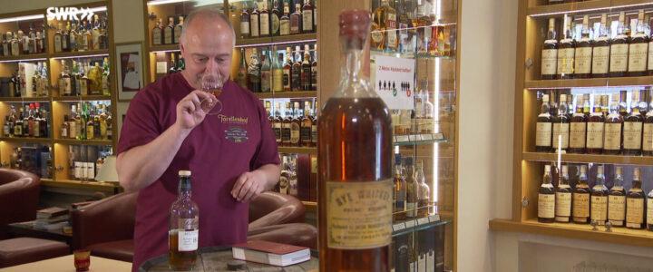 SWR-Beitrag über unsere Whiskysammlung
